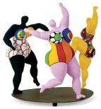 niki de Saint Phalle femmes qui dansent